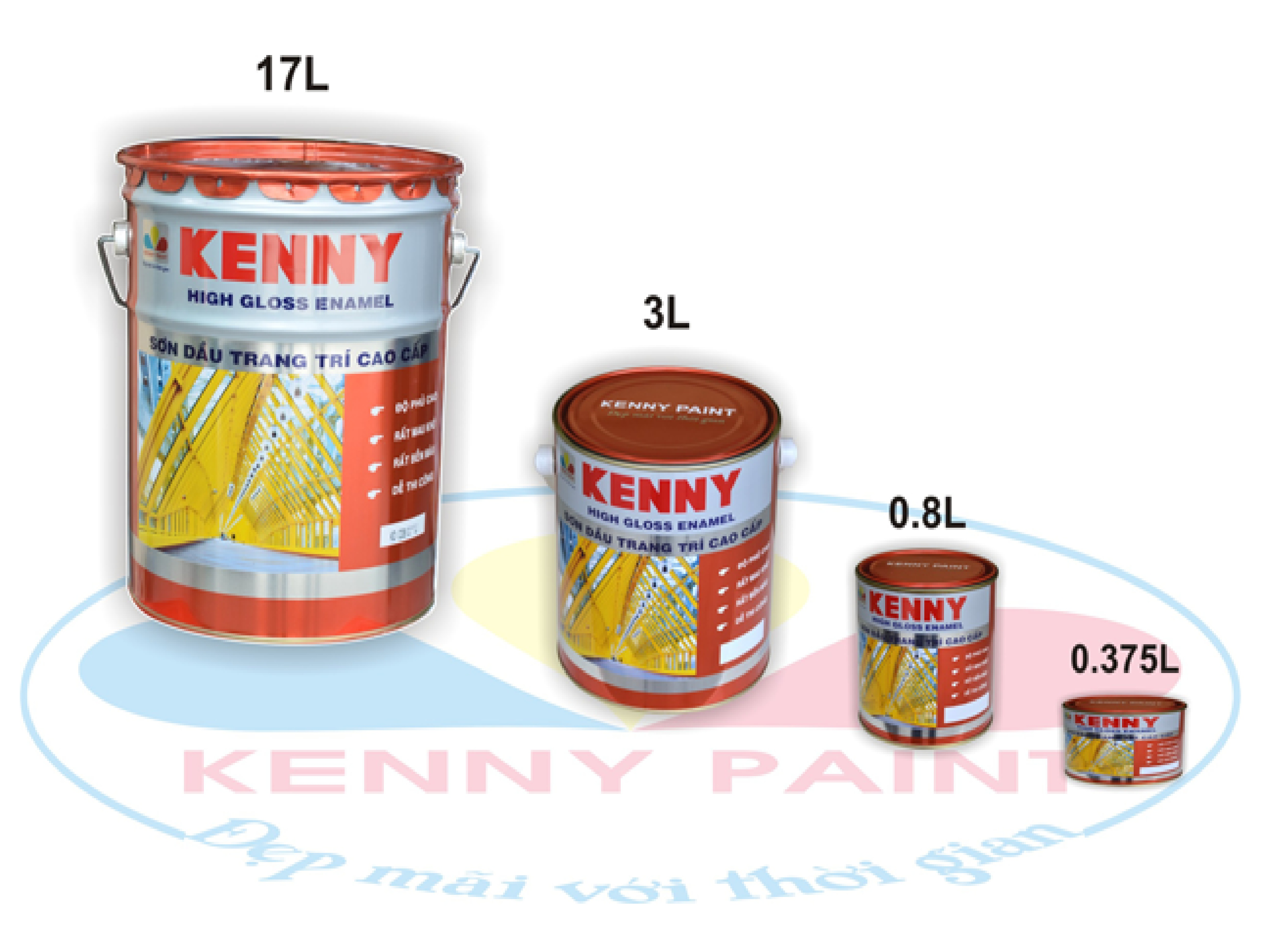 Sơn dầu KENNY High Gloss Enamel